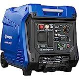 Westinghouse Outdoor Power Equipment iGen4500 Super Quiet Portable Inverter Generator 3700 Rated & 4500 Peak Watts, Gas Powered, Blue/Black